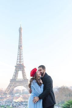 Engagement at the Eiffel Tower. Girl in red hat. Paris couple photographer | couple in paris | paris couple photography | paris photographer | paris couples | paris photography | paris couples eiffel tower | paris couple ideas. #pariscoupleshoot #parisphotographers #photographersparis #gettinghitched #pariscouplesession #coupleposes #parisianphotographer #couplephotoposes #couplephotoshootideas #parisphotographer #parisphotography #photooftheday #igdaily #theparisphotographer Eiffel Tower Location, Paris Eiffel Tower, Paris Photography, Couple Photography, Amazing Photography, Paris Pictures, Paris Photos, Paris Paris, Paris France