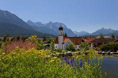 Wallgau, Kuratiekirche St. Jakob (Garmisch-Partenkirchen) BY DE