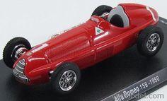 EDICOLA GL07 Scale 1/43  ALFA ROMEO F1  158 N 1 J.M.FANGIO 1950 RED