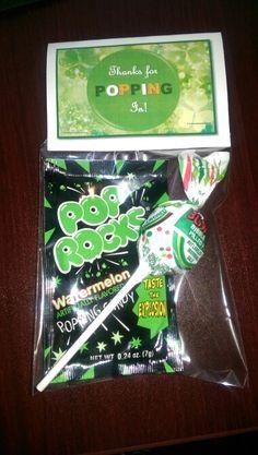 Prospect gifts in spirit of St. Patricks Day.