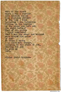 Typewriter Series #1028byTyler Knott Gregson *Chasers of the Light, is available throughAmazon,Barnes and Noble,IndieBound,Books-A-Million,Paper SourceorAnthropologie*