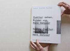 book about Zumthor