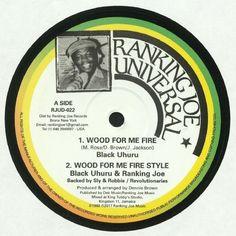 Black Uhuru | Ranking Joe - Wood For Me Fire (reissue) (Ranking Joe) #music #vinyl #musiconvinyl #soundshelter #recordstore #vinylrecords #dj #Dub