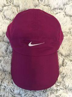 Nike Women's Featherlight DRI-FIT Magenta Pink Hat Cap #Nike