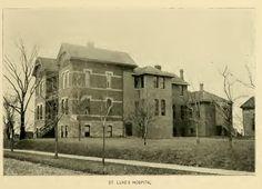 St. Luke's Hospital, Cedar Rapids, Iowa 1898 Cedar Rapids Iowa, Clay County, Iowa Hawkeyes, Medical Center, Ancestry, Cousins, Minnesota, Pride, Bucket