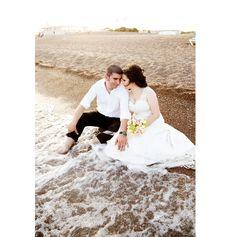 plaj düğün fotoğraf, kare kadraj