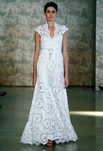 I don't need a wedding dress, but I love this syle!!  I want a dress with sleeves like this.
