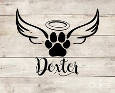 Your place to buy and sell all things handmade Tattoos For Dog Lovers, Dog Tattoos, Finger Tattoos, Dog Paw Drawing, Black Dragon Tattoo, Dog Memorial Tattoos, Fire Tattoo, Pet Dogs, Pets