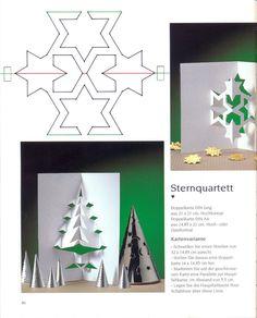 weihnachtskarten0047 Printable Christmas Cards, Christmas Card Template, Merry Christmas Card, Christmas Cards To Make, 3d Cards, Pop Up Cards, Paper Cards, Tarjetas Pop Up, Origami And Kirigami
