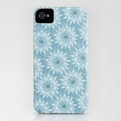 Fun Flower No. 2 iPhone Case by Susan Weller - $35.00 - other colors and patterns also available!