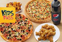 Feed the Family £19.99 and a FREE 21 day Kidspass - Papa Johns