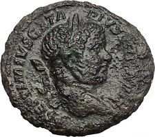 GETA 211AD Rome Rare Original Authentic Ancient Roman Coin FORTUNA i54761