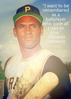 He Did.....And He was The Best I Ever Saw When I Was A Kid!!! Roberto Clemente