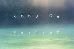 Keep on shining. You rock! :-)  #freespo #bodypositive