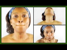 Yoga facial and neck exercises: Firm your neck using face yoga Massage Facial, Facial Yoga, Skin Tag On Eyelid, Skin Tags Home Remedies, Neck Exercises, Facial Exercises For Jowls, Natural Face Moisturizer, Sagging Skin, Prevent Wrinkles