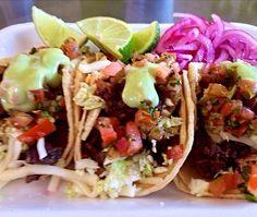 tacos taqueria la ventana dallas texas pinterest street tacos