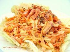 Вкусный и оригинальный салат «Анастасия»