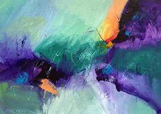 Saltwater 4 by David Kessler Acrylic ~ 22 x 30