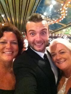 Celtic thunder cruise 2013 with Keith and Sharon