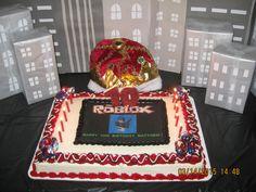Roblox Birthday...My son Matthew's 10th Birthday Roblox Game theme cake.