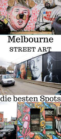 Melbourne ist die Stadt mit der schönsten Street Art. Alle Geheimtipps und die besten Spots zusammengefasst. #Reisetipp #Melbourne #Australien #StreetArt