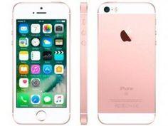"""Só agora por apenas R\$ 1.490,00 em até 10x de R\$ 149,00 sem juros no cartão de crédito você leva iPhone SE Apple 128GB 4G Tela 4"""" - Retina Câm. 12MP iOS 10 Proc. Chip A9 Touch ID Bem-vindo ao iPhone SE, o telefone de 4 polegadas mais poderoso já feito. Ele traz o design que todo mundo já adora, reinventado de dentro para fora: o A9 é o mesmo chip avançado que usamos no iPhone 6s, a câmera de 12 megapixels faz fotos e vídeos 4K espetaculares, e as Live Photos dão vida às suas imagens. O..."""