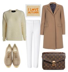 """""""Untitled #158"""" by ema-jones on Polyvore featuring ESCADA, Designers Remix, Giorgio Armani, Paul Smith and Louis Vuitton"""