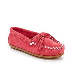 Minnetonka Girls Kilty Moccasins #Dillards