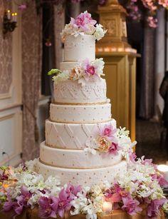 Cake Red Pink And Gold Wedding   Berit Bizjak , cake by Pink Cake Box