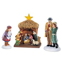 """Department 56: Products - """"Visiting The Nativity"""" - View Accessories"""