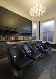 """Rush West Hampstead - Found on the charismatic street of West End Lane, our West Hampstead salon is the perfect addition to add a glitz and glamour to this friendly and thriving social hub. With beautiful modern interior and a shiny shop front, our award winning team will be on hand to discover your personal ritual and leave you looking and feeling simply fabulous with """"beautiful hair at affordable prices""""."""