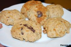 Zdrowe ciasteczka owsiane z czekoladą