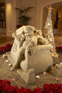 Sand Sculpture at St. Regis Monarch Beach.
