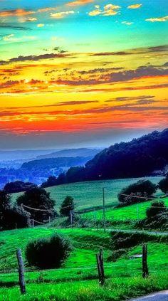 Colorful Dawn ~ Dreamy Nature