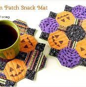 Pumpkin Patch Snack Mat - via @Craftsy