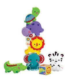Look at this #zulilyfind! Animal Tower Game #zulilyfinds