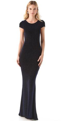 alice + olivia Lanie Open Back Dress | SHOPBOP simple & gorgeous!