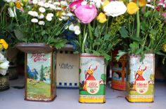Of course i would find something to do with my olive oil cans once I am all done with them.