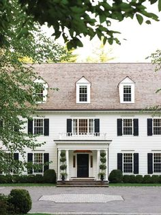Colonial Revival | New England   Beautiful Curb Appeal