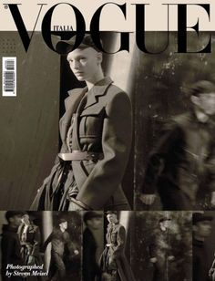 Frederikke Sofie by Steven Meisel for Vogue Italia September 2016 Cover