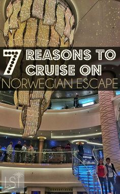 Norwegian Cruise Lines newest ship launched this week. Norwegian Escape is one of its biggest cruise ships. With world renowned restaurants, Broadway musicals performed on board and a host of entertainment, plus excellent stateroom accommodation, it's a great travel experience. There's many reasons to cruise the Caribbean - here's seven reasons to set sail on Norwegian Escape.