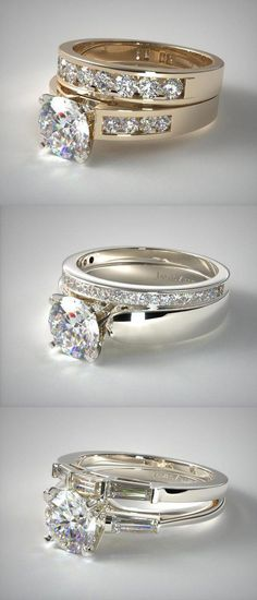 Bridal ring set Ideas   Inspiration for Men   Women which is Awesome    Unique made 20a334d3d32c
