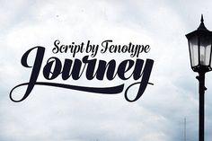 Journey Script Family by Fenotype on @creativemarket