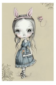 LIMITED EDITION print signed numbered by ppinkydollsart on Etsy, $10.00