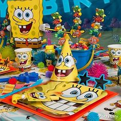 Spongebob Birthday Party Inspiration
