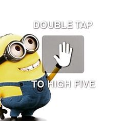 Double Tap To High Five Pictures, Photos, and Images for Facebook, Tumblr, Pinterest, and Twitter