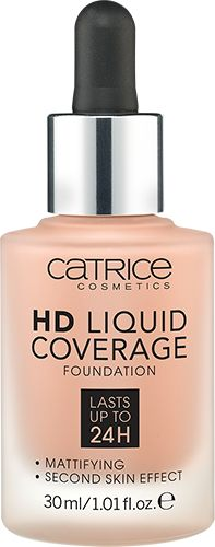 HD Liquid Coverage Foundation 040