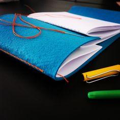#de7tasarim  new felt cover handmade book design keçe kapaklı yeni elyapımı defter