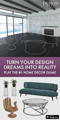 Spend your time relaxing and playing Design Home, the #1 Home Decor Game! If you daydream about designing beautiful, unique interiors for your many fantastic homes, you can now bring your design dreams to life in this visually stunning 3D experience. Join millions of design and home decor lovers to discover, shop items you love, style gorgeous rooms and get recognized for your creativity!_