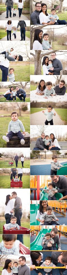 Family of 3. Family pictures at the park. Centennial Park, Maryland. 18 month photos. Family photos with baby
